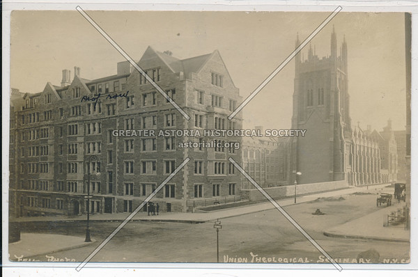 Union Theological Seminary, B'way & Claremont Ave, 120 St, NYC (fm NW)