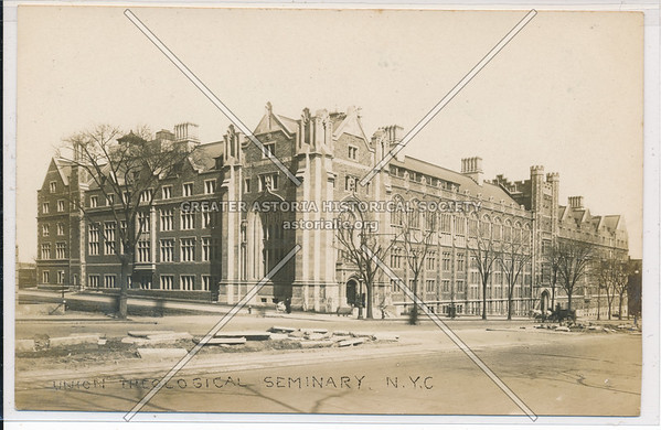 Union Theological Seminary, B'way & Claremont Ave, 120 St, NYC