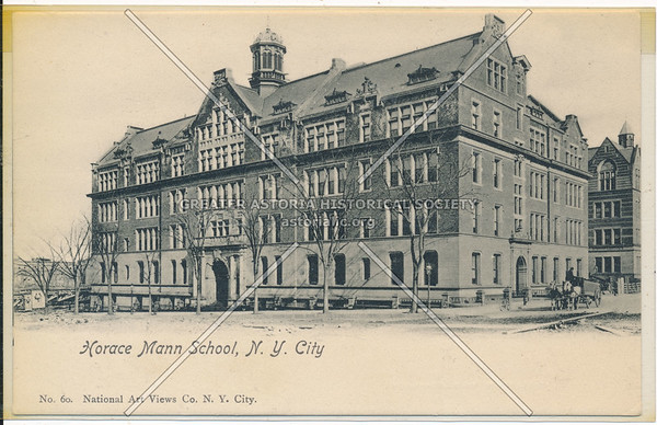 Horace Mann School, 120 St & Bway, NYC