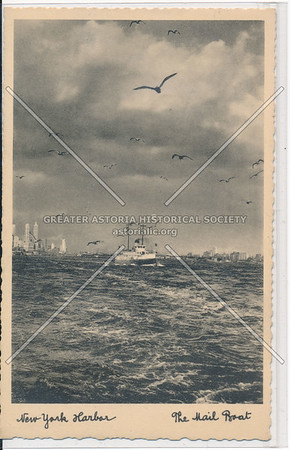 The Mail Boat, New York Harbor