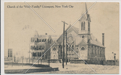 Church of the Holy Family, Unionport, Bx
