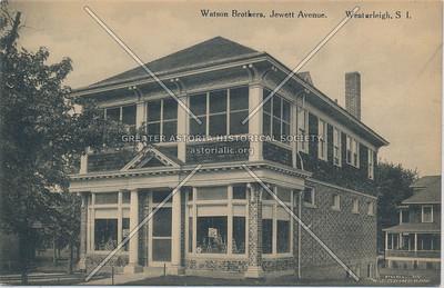 Watson Bros, store, Jewett Ave., Westerleigh