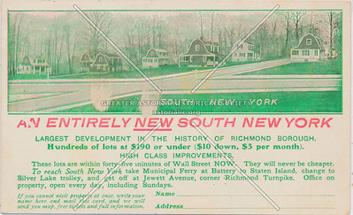 South New York, Jewett Ave., Westerleigh