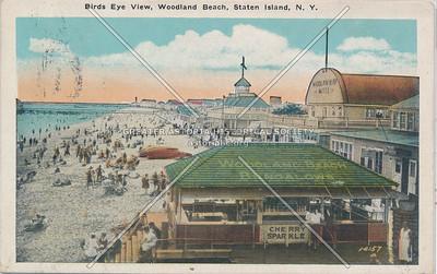 Birdseye view, Woodland Beach