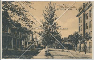 Lincoln Ave. & Public School No. 90, Richmond Hill, L.I.