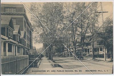 Washington St. & Public School No. 90, Richmond Hill, L.I.