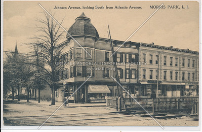 Johnson Ave, looking South from Atlantic Ave. Morris Park,, L.I.