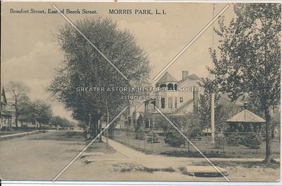 Beaufort St, East of Beech St. Morris Park, L.I.