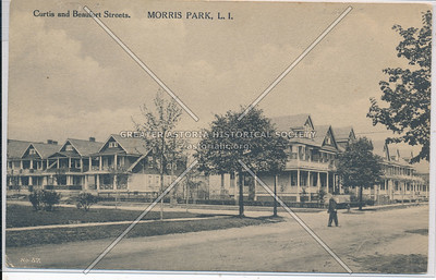 Curtis & Beaufort Sts. Morris Park, L.I.
