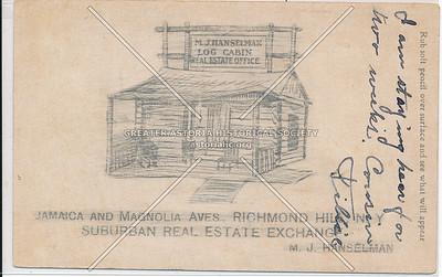 Suburban Real Estate Exchange. Jamaica & Magnolia Aves., Richmond Hill, L.I.