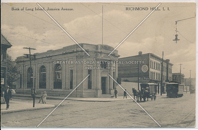 Bank of Long Island, Jamaica Ave, Richmond Hill, L.I.