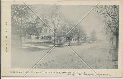 Lefferts Ave & Fulton St, Morris Park, L.I.