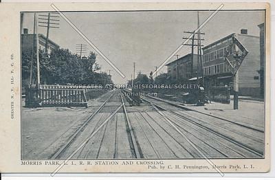 L.I.R.R. Station & Crossing, Morris Park, L.I.