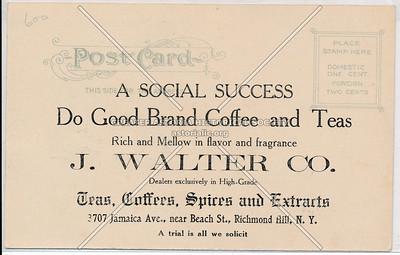 Teas. Coffees, Spices & Extrarts, 3707 Jamaica Ave., Beach St., Richmond Hill, L.I.
